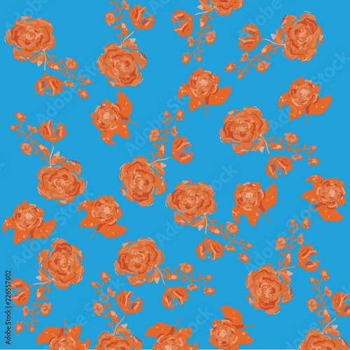 Floral Pattern Illustration - 226557602