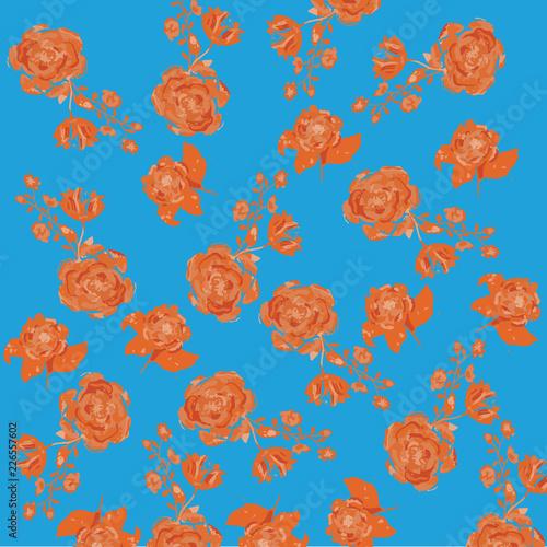 Floral Pattern Illustration - 226557602
