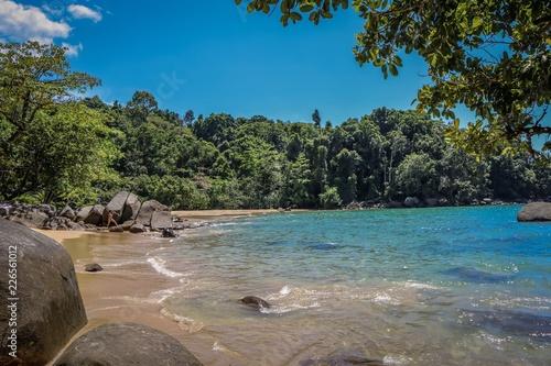 Fototapeten Strand Strand in Thailand