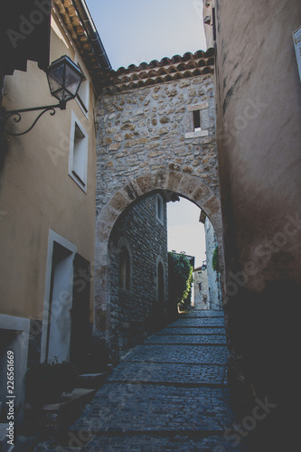 Medieval Village in South France Provence