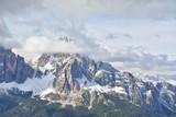 Tofana di Mezzo and Tofana di Rozes mountains in Dolomites, Italy
