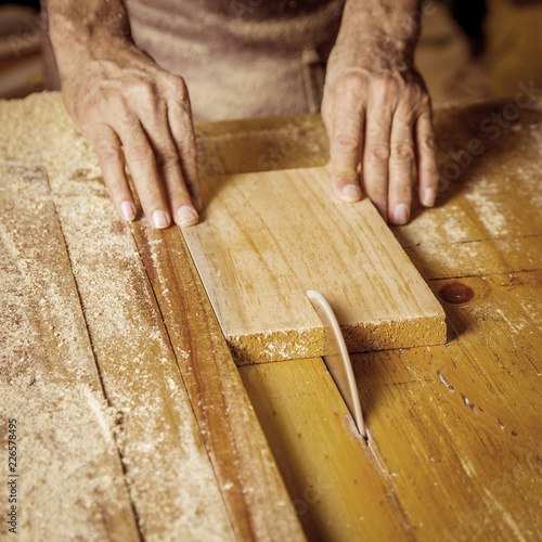 Man hands working - 226578495