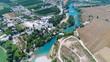 Aerial photo of Manavgat Waterfall in Antalya Turkey - 226580210