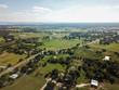 Aerial of Rural Sommervile, Texas in between Austin and Houston