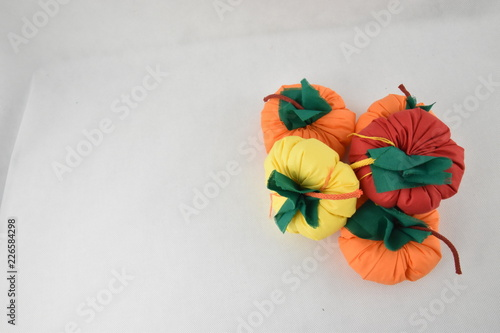 Pumpkins with space for text - 226584298