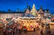 Weihnachtsmarkt auf dem Frankfurter Römer, Frankfurt am Main, Hessen, Deutschland - 226585080