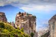 Leinwandbild Motiv Monastery of the Holy Trinity i in Meteora, Greece
