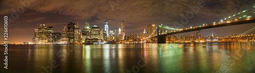 Panorama von New York Blick aus Brooklyn - 226610603
