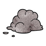 cartoon doodle storm cloud - 226620669
