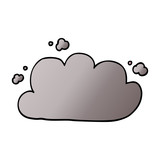 cartoon doodle storm cloud - 226623631