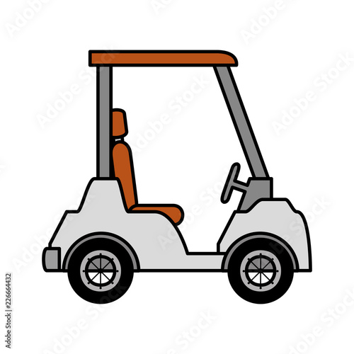 golf cart isolated icon - 226664432