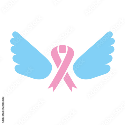 Pink Ribbon With Wings Breast Cancer Buy Photos Ap Images