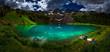 Hiker rests near Blue Lake  Ridgway Colorado