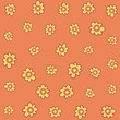 Flower cartoon isolated pattern background - 226702897