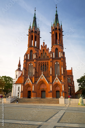 Zdjęcia na płótnie, fototapety na wymiar, obrazy na ścianę : Basilica of the Assumption of the Blessed Virgin Mary in Bialystok, Poland