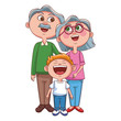 Grandparents and grandchildrens - 226736079