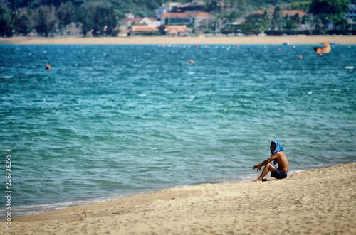 Fototapeten Strand beach in Vietnam