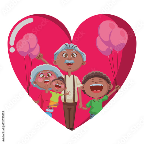 Grandparents and grandchildrens - 226739695