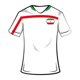 India soccer tshirt