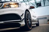 Modern hatchback front