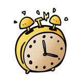 cartoon doodle alram clock - 226772287