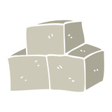 cartoon doodle breeze blocks - 226778429
