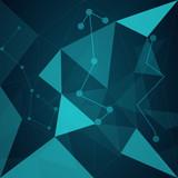 Triangulation blue - 226786422