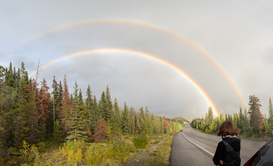 voller Regenbogen