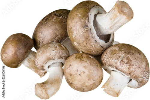 Crimini Mushrooms - Isolated - 226800406