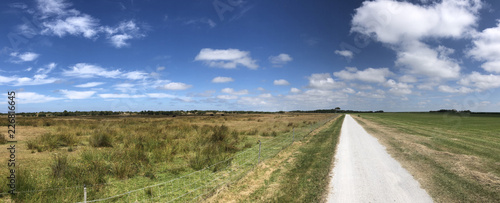 Bicycle path on Schiermonnikoog - 226816645