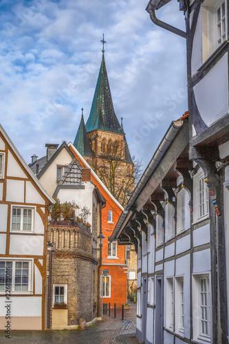 Street in Warendorf, Germany