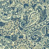 Paisley floral seamless pattern - 226831090