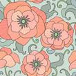 poppy pattern - 226865254