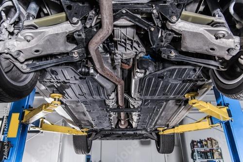 Car on a Lift Repair - 226874019