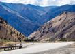 Scenic mountain road in Eastern Washington state, USA