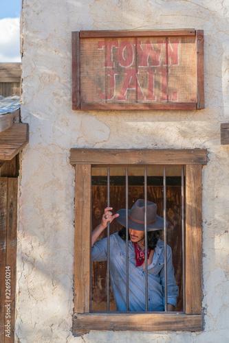 Foto Murales Cowboy in Town Jail