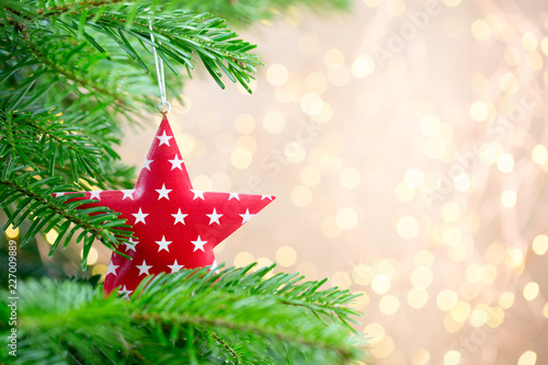 Foto Murales Christmas greeting card backgrounds.