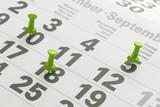 Urlaubstage im Kalender markiert - 227011865