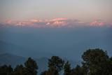 The Himalayas at sunset from Nagarkot in Nepal - 227034020