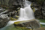 wet stone and waterfall - 227034429