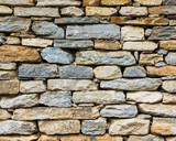Old stone wall texture - 227045064