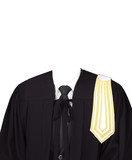 Man Lawyer Suit Without Head on White Background. - 227046638