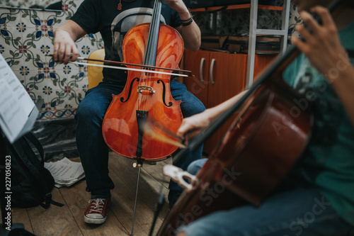 Cello Lesson - 227050823