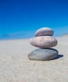 Three beauty stones on the beach - 227057614