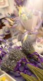 Delicate plants bouquet. Copy space.
