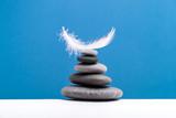 Spa stones treatment scene, zen like concepts. Spa background. - 227079621