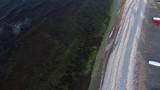 Limestone coastal region in Sweden aerial - 227079898