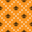 Fleur de Lis background texture. Seamless pattern. Vector illustration - 227080886