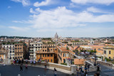 Overlook of the city of Rome