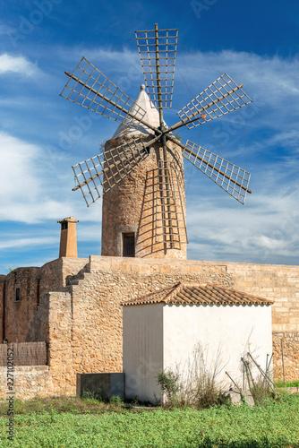 Foto Murales Old Grain Mill  |  Mallorca  |  9337